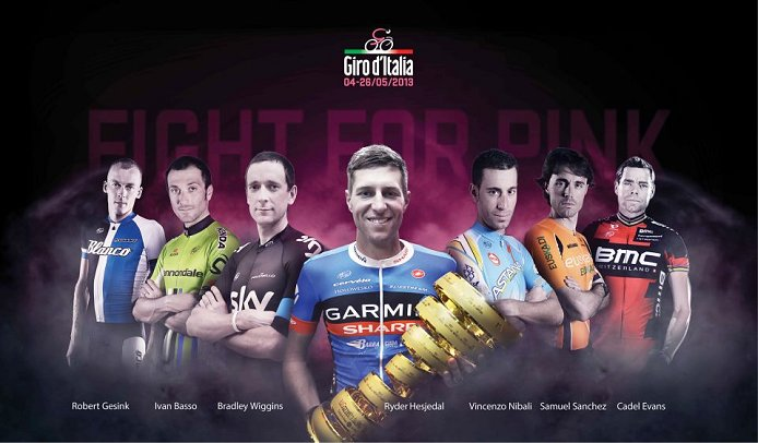The  Giro Has Attracted An Impressive Field Of Contenders Note That Ivan Basso Has Withdrawn From The Race Image Courtesy Giro Ditalia