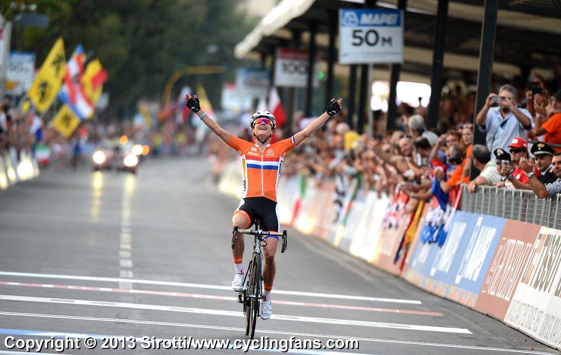 2013 uci road worlds elite women road race marianne vos wins1 jpg