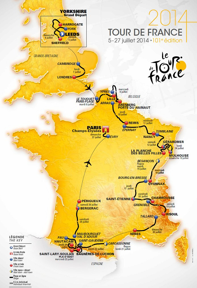 What Year Was Tour De France Not Held