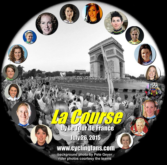 Photo: La Course by Le Tour de France returns in 2015. - 2014: See our 20 team/rider profiles.