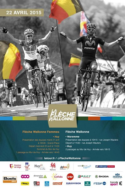 Photo: The 2015 Fleche Wallonne is being held Wednesday, April 22..