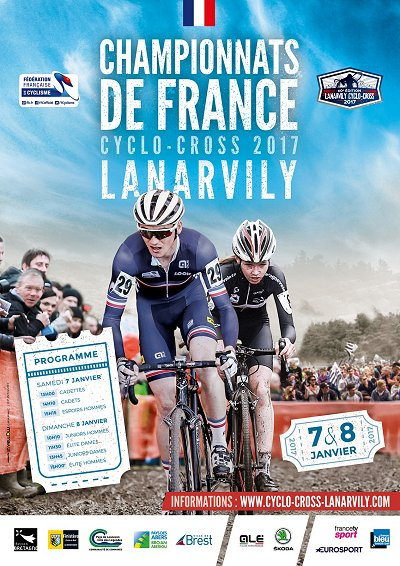 Thumbnail Credit (cyclingfans.com): Live streams are expected Sunday for cyclocross national championships in Belgium and France. There may also be live feeds for other countries but we will not know for sure until the events begin.
