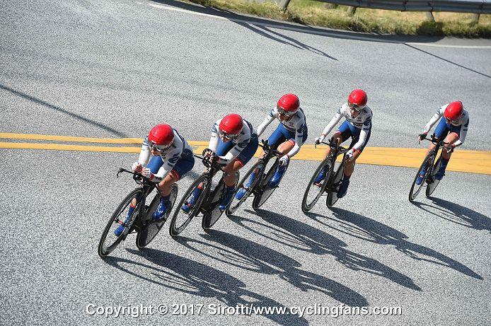 Team Cervelo-Bigla rode to a third place finish 40c7d02f0