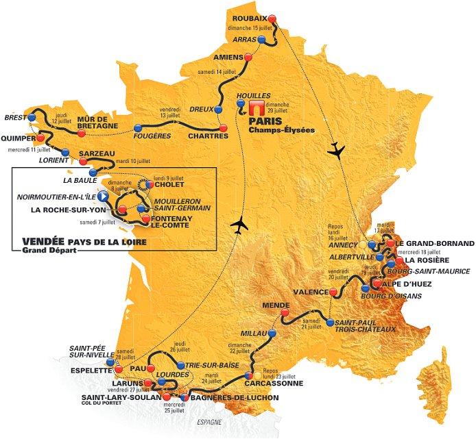 Tourtracker Tour De France
