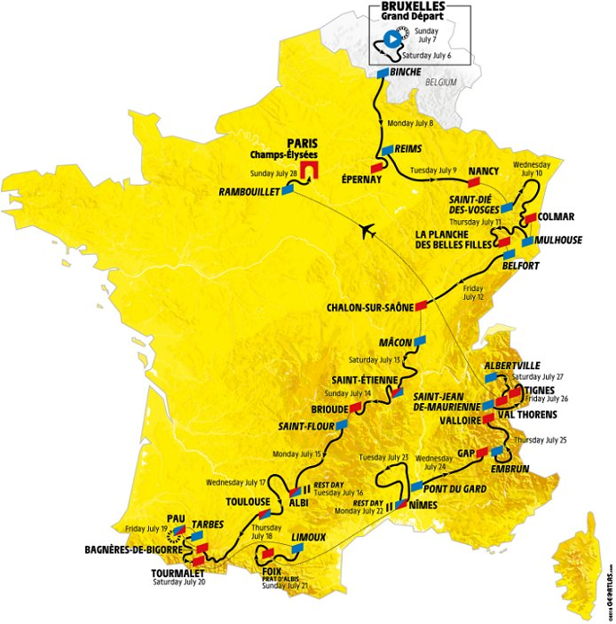 Map Of France Key Stage 2.2019 Tour De France Live Stream Results Photos News Preview