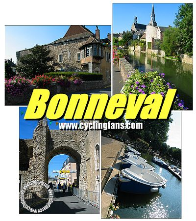 Photo: Longtime start town for the U23 Paris-Tours, the medieval town of Bonneval will see the start of the 2014 Elite Men Paris-Tours. Copyright � 2003 Pete Geyer/www.cyclingfans.com.